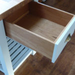 Kitchen Table Drawer Painted