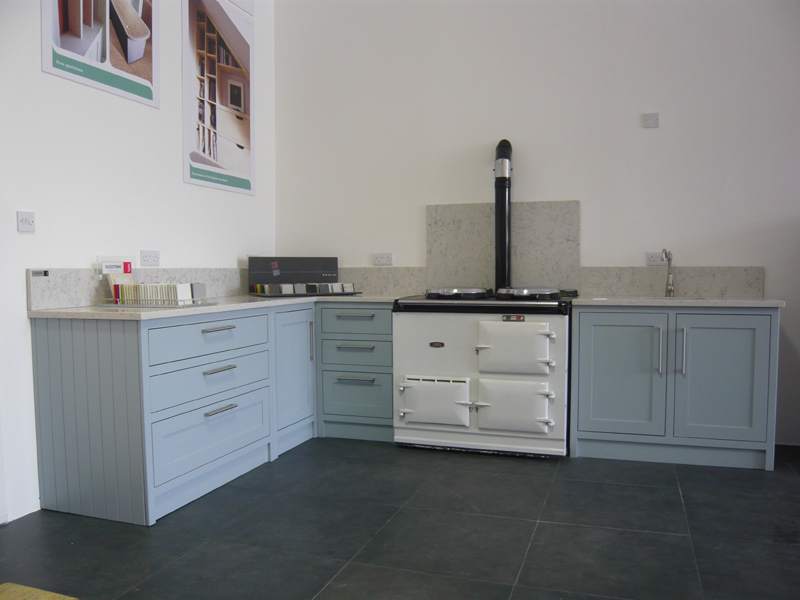 Our showroom kitchen